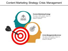 Content Marketing Strategy Crisis Management Business Pre Seed Funding Cpb