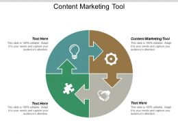 Content Marketing Tool Ppt Powerpoint Presentation Model Vector Cpb