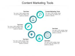 Content Marketing Tools Ppt Powerpoint Presentation Icon Introduction Cpb