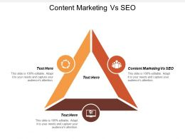 Content Marketing Vs SEO Ppt Powerpoint Presentation Gallery Background Images Cpb