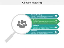 Content Matching Ppt Powerpoint Presentation File Graphics Cpb