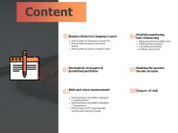 Content Measurement F745 Ppt Powerpoint Presentation Gallery Guidelines