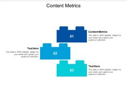 Content Metrics Ppt Powerpoint Presentation Portfolio Show Cpb