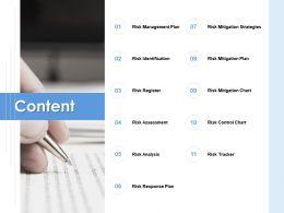 Content Mitigation Strategies E289 Ppt Powerpoint Presentation Slides Designs