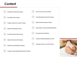 Content Model For Successful Business Operations N57 Ppt Powerpoint Presentation File Ideas