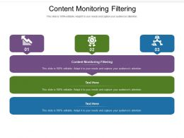 Content Monitoring Filtering Ppt Powerpoint Presentation Professional Brochure Cpb
