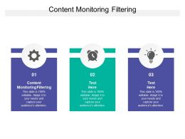 Content Monitoring Filtering Ppt Powerpoint Presentation Slides Gridlines Cpb