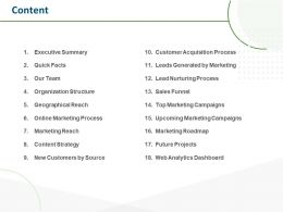 Content Online Marketing Process N45 Ppt Powerpoint Presentation Example Introduction