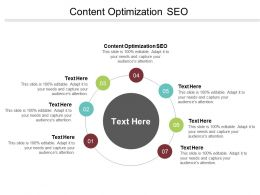 Content Optimization SEO Ppt Powerpoint Presentation File Slides Cpb