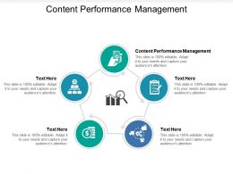 Content Performance Management Ppt Powerpoint Presentation File Layout Ideas Cpb