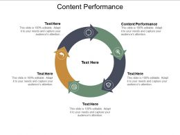Content Performance Ppt Powerpoint Presentation Infographic Template Design Templates Cpb
