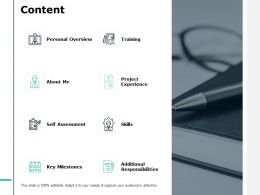 Content Personal Overview J141 Ppt Powerpoint Presentation File Files
