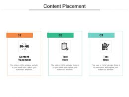 Content Placement Ppt Powerpoint Presentation Layouts Slides Cpb