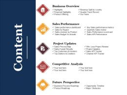 Content Powerpoint Slides Templates