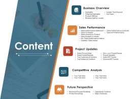 Content Ppt Images