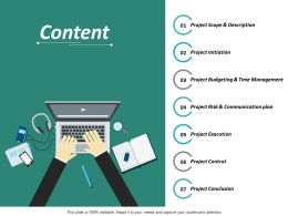 Content Ppt Infographics Format Ideas
