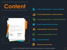 Content Ppt Summary Designs Download