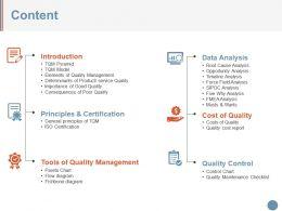Content Presentation Graphics