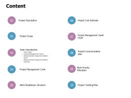Content Priority Allocation L376 Ppt Powerpoint Presentation Maker
