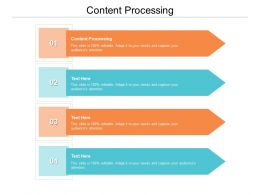 Content Processing Ppt Powerpoint Presentation Ideas Guide Cpb