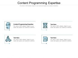 Content Programming Expertise Ppt Powerpoint Presentation Outline Background Designs Cpb