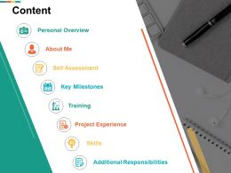 Content Project Experience Skills I33 Ppt Powerpoint Presentation Diagram Templates