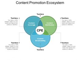 Content Promotion Ecosystem Ppt Images Gallery