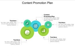 Content Promotion Plan Ppt Powerpoint Presentation Slides Picture Cpb