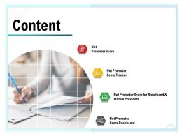Content Providers M1573 Ppt Powerpoint Presentation Layouts Model