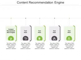 Content Recommendation Engine Ppt Powerpoint Presentation Slides Visual Aids Cpb