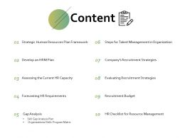 Content Recruitment Strategies Ppt Powerpoint Presentation File Structure