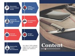 Content Recruitment Tracker Ppt Powerpoint Presentation File Example File