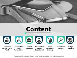 Content Recruitment Tracker Ppt Powerpoint Presentation File Portfolio