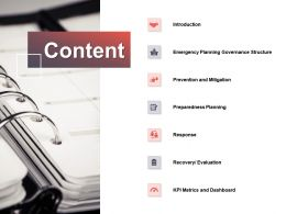 Content Response Governance Structure E136 Ppt Powerpoint Presentation Gallery Example