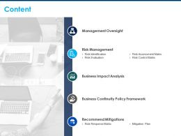 Content Risk Management Business Impact Analysis C292 Ppt Powerpoint Presentation File Inspiration