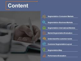 Content Roles And Responsibilities Ppt File Backgrounds