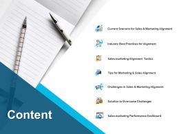 Content Sales Marketing Ppt Powerpoint Presentation Pictures Templates