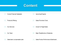 Content Sales Our Team 336 Ppt Powerpoint Presentation File Layouts