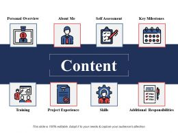 Content Self Assessment Ppt Powerpoint Presentation File Backgrounds
