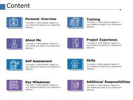 Content Self Assessment Ppt Powerpoint Presentation File Inspiration
