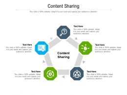 Content Sharing Ppt Powerpoint Presentation Infographics Diagrams Cpb