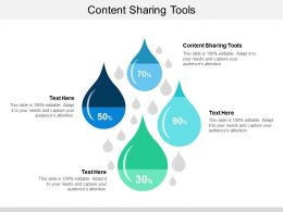 Content Sharing Tools Ppt Powerpoint Presentation Slides Infographic Template Cpb