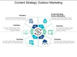Content Strategy Outdoor Marketing Ppt Powerpoint Presentation Slides Influencers Cpb
