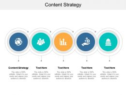 Content Strategy Ppt Powerpoint Presentation Professional Vector Cpb