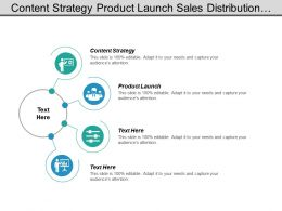 Content Strategy Product Launch Sales Distribution Management Service Management Cpb