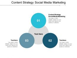 Content Strategy Social Media Marketing Ppt Powerpoint Presentation File Design Inspiration Cpb