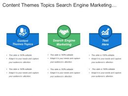 Content Themes Topics Search Engine Marketing Brand Personality