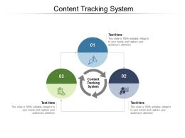 Content Tracking System Ppt Powerpoint Presentation Pictures Vector Cpb