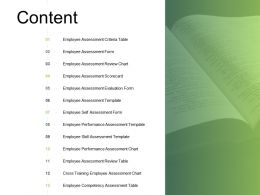 Content Training Employee L303 Ppt Powerpoint Presentation Icon Aids
