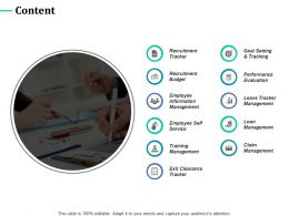 Content Training Management C400 Ppt Powerpoint Presentation Styles Example